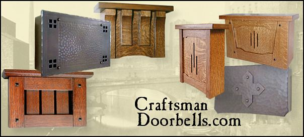 Craftsman Doorbells And Buttons Wood And Metal
